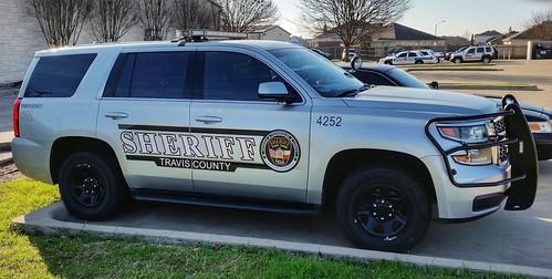 texas sheriff car