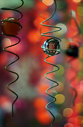 spirals, bokeh and spheres -- oh my - O