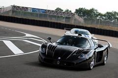 Best MC12 ever! ([ JR ]) Tags: black sport race canon eos switzerland track noir suisse d jr ferrari collection mc 200 12 70 et circuit mc12 maserati ch zenith combo 550 trofeo 2011 vigeant