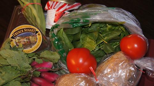 Market Basket from June 4, 2011 Mill City Farmers Market