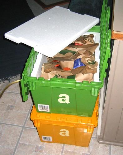 Amazon Fresh Cold Box