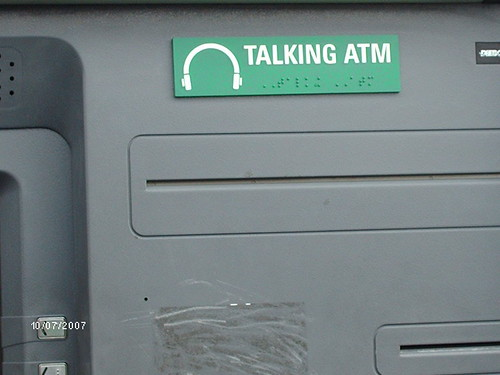 ATM Machine- close up