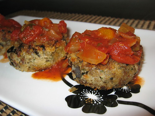 Eggplant Croquettes with Marinara Sauce