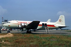 Cameroon Airlines TJ-CCA DC.4 (AlainDurand) Tags: douglas airlines airliners cameroon airtransport worldairlines douglasdc4 airlinestjcca dc4douala aviationaircrafts