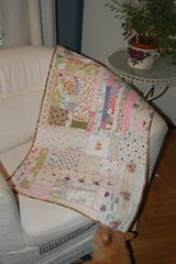 Smilla's blanket made by iHanna - Copyright Hanna Andersson