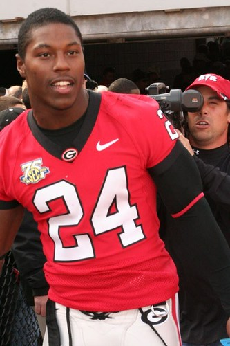 UGA Running Back Knowshon Moreno