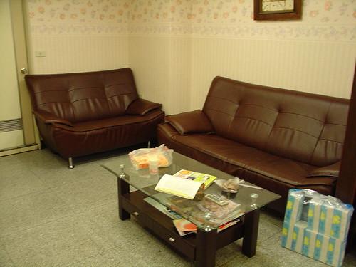 病房環境拍攝…沙發