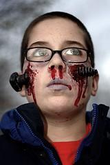 Bolt Through Face - Halloween (dean.mullin) Tags: halloween canon rebel horror xti canonrebelxti