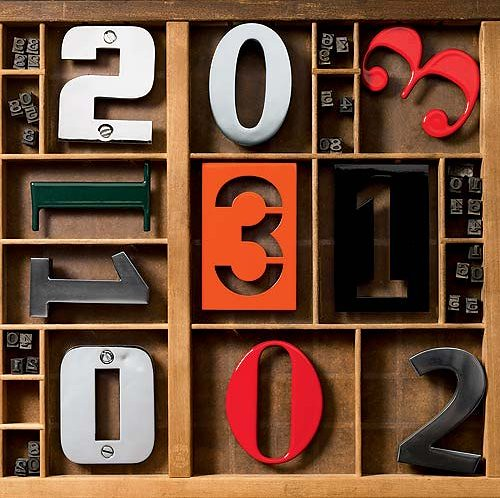 Spiekermann House Numbers by Stewf, on Flickr