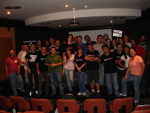 Galera toda do BlogCamp MG reunida