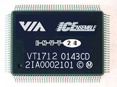 VIA Vinyl Audio Envy24 chip