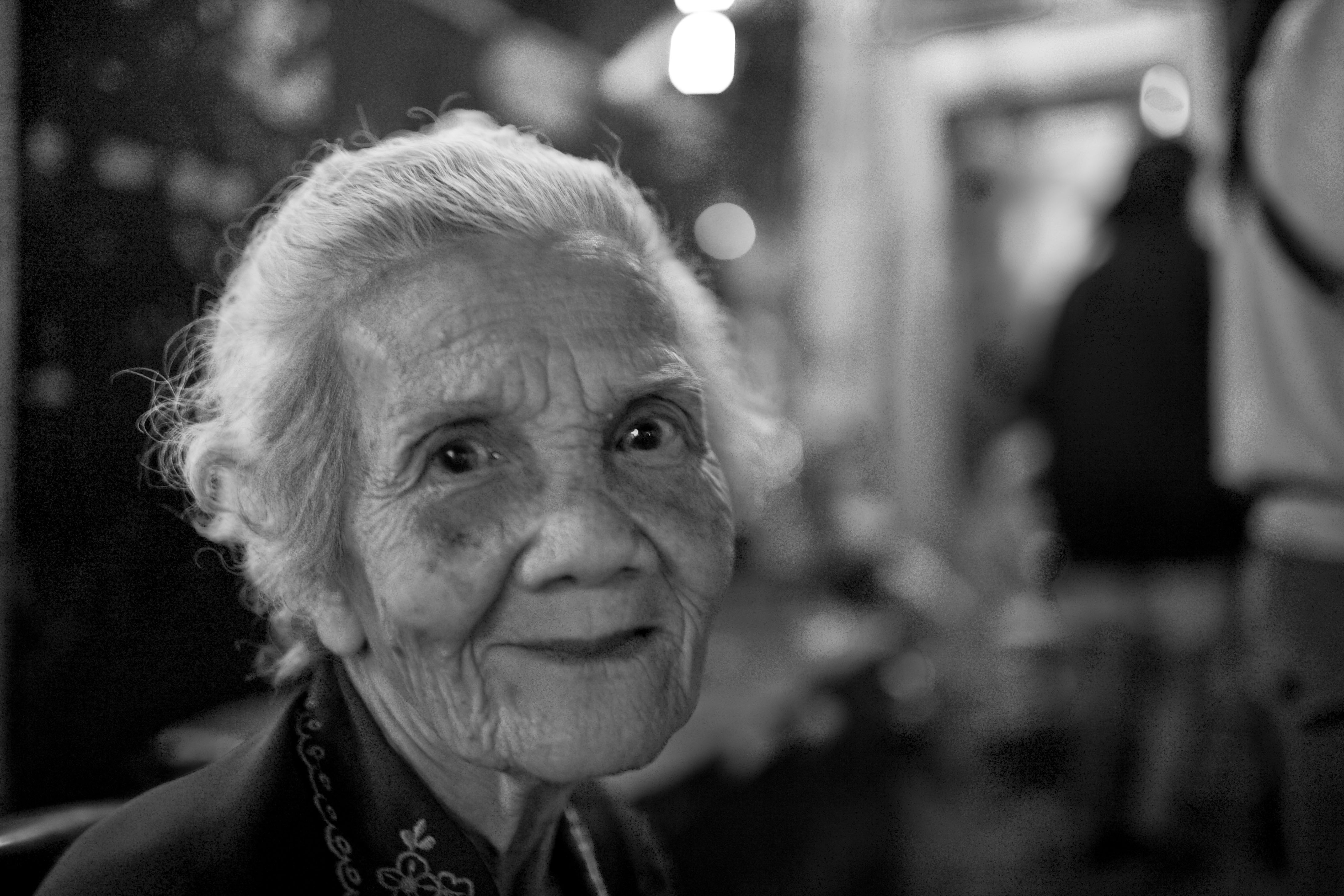 Image of: White Photography Womans Face In Bw The Beauty Of Good Lived Life Thailand Nonsense Society Elderly In Photography Nonsense Society