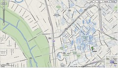 Google Maps Dallas Terrain