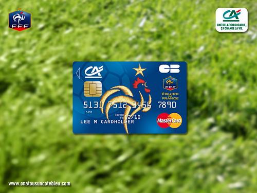 carte co-brandé CA FFF