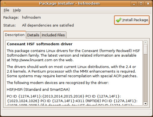 package_installer