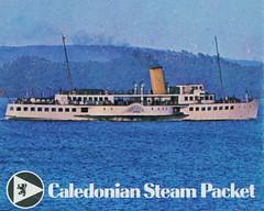 PS MAID OF THE LOCH Timetable Cover (Hugh Spicer / UIsdean Spicer) Tags: steamer calmac lochlomond paddlesteamer britishrailways paddler maidoftheloch caledoniansteampacket