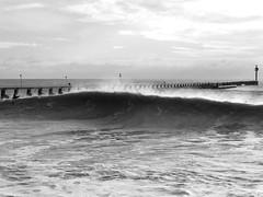 shorebreak (Miscellaneous Adventures) Tags: winter beach surf wave southcoast swell shorebreak