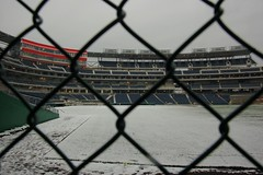Nationals Park from the Washington Nationals Bullpen