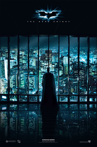 Teaser Poster International Batman Dark Knight