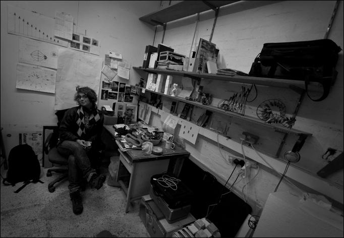 Rocca in studio