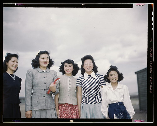 Japanese-American camp, war emergency evacuation, [Tule Lake Relocation Center, Newell, Calif.] (LOC)