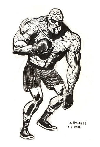 Cool Boxing Drawings