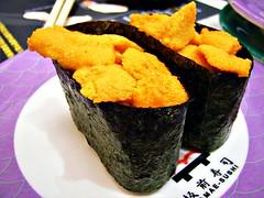 Uni Sushi (hk_traveller) Tags: food japan sushi japanese r1 uni ricoh  ricohr1