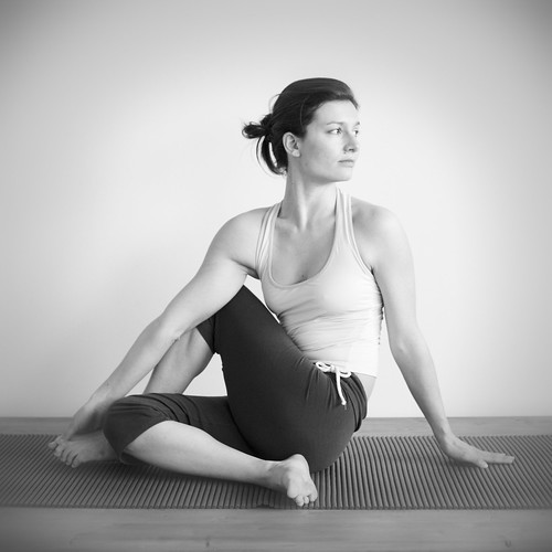 Half Spinal Twist Pose