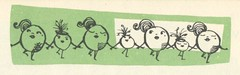 The Onionettes (Cowtools) Tags: vintage recipe ephemera illo booklet groundmeat