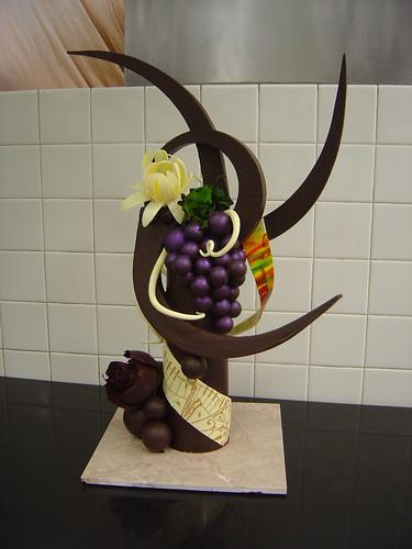 Chocolate Sculpture 2005