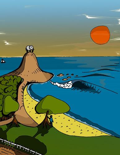 Dibujo Surf