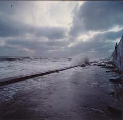 winter storm (Vsevolod Vlasenko) Tags: winter storm 120 50mm waves odessa hasselblad blacksea arcadia