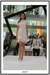 Fashion show @ Central mall (arbal) Tags: model singapore babes fashionshow catwalk centralmall