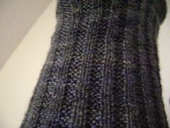 Excalibur Socks Seed Rib pattern