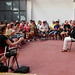 GMF tutor Stephen Keogh leads pulse workshop in Centro Giovanni