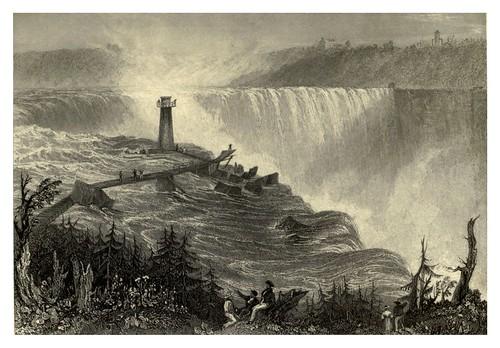 007-Catarata de la Herradura en el Niagara 1840