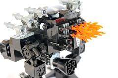 pic10-hellfire_assault_mech (Master Shifu Leo J) Tags: robot lego mech