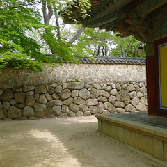 Bulguksa shadows (Lo.Mar ( asiatransect.it )) Tags: trip travel bike asia bycicle asiatransect
