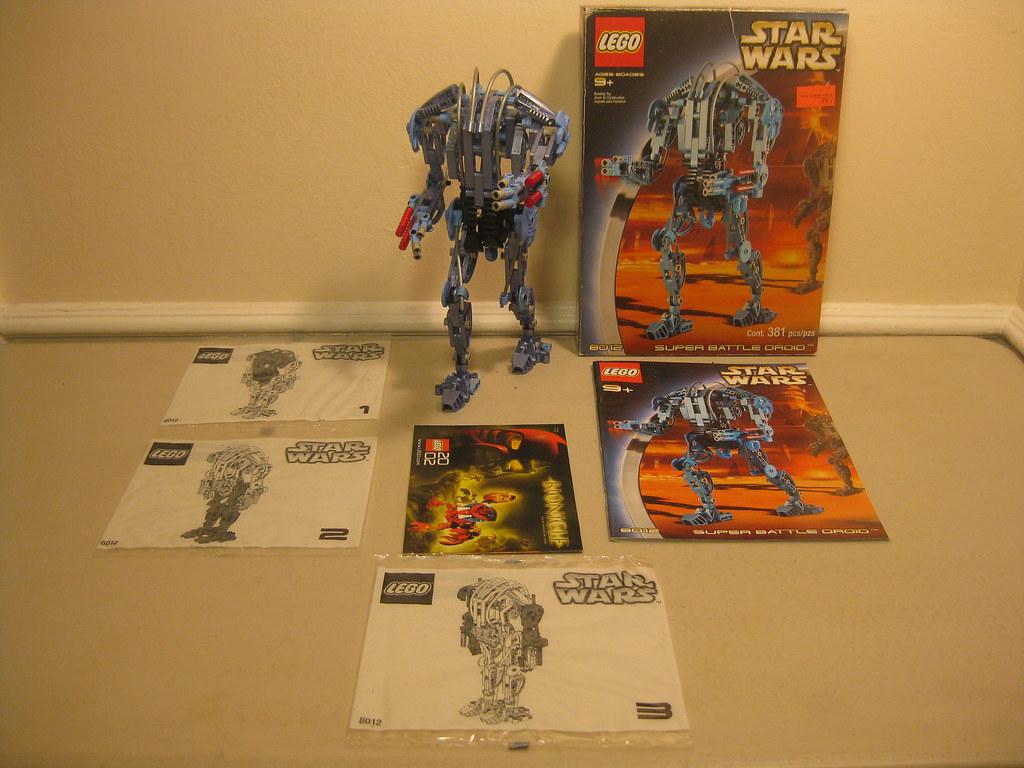 2002 Lego Star Wars 8012 Assembled