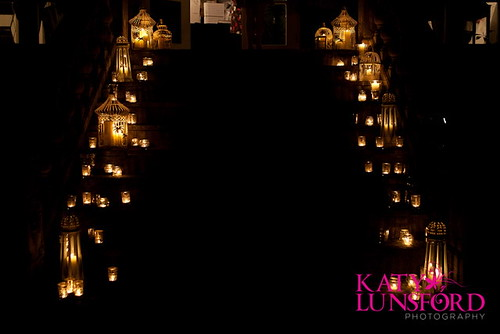 Candle Lit Steps