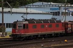 Schiebedienst am Gterzug SBB Lokomotive 11609 Uzwil am Bahnhof in Erstfeld im Kanton Uri in der Schweiz (chrchr_75) Tags: train de tren schweiz switzerland suisse swiss eisenbahn railway zug mai 1105 locomotive christoph svizzera chemin centralstation fer locomotora tog juna lokomotive lok ferrovia spoorweg suissa locomotiva lokomotiv ferroviaria  2011 locomotief chrigu  rautatie  zoug trainen  chrchr hurni chrchr75 chriguhurni albumbahnenderschweiz albumbahnenderschweiz2011 mai2011 ahnenderschweiz2011 chriguhurnibluemailch albumzzz201105mai