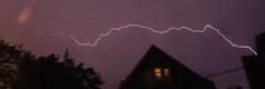 Sideways Bolt (Eric Kilby) Tags: sky boston horizontal night bolt lightning
