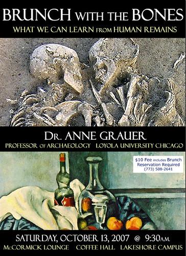 Speaker Series: Anne Grauer