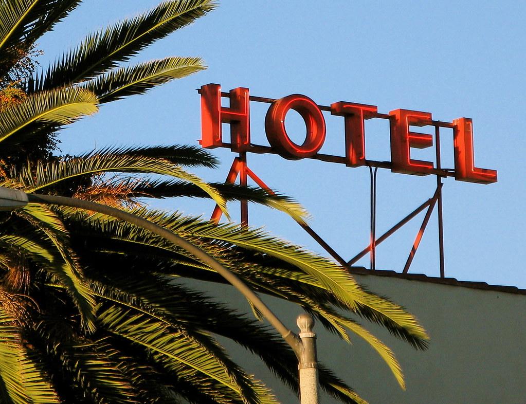 Hotel i palmy