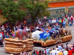 Painted Buffaloes (allisonmeier) Tags: buffalo oklahomacity 2007 oklahomacentennial paintedbuffalo oklahomacentennialparade paradeofbuffaloes paintedbuffaloes