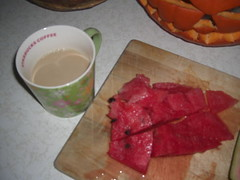 Coffee and Watermelon