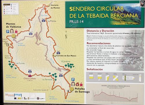 Plano Sendeiro Tebaida Berciana