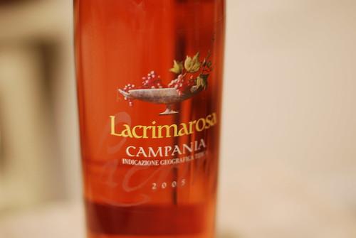 2005 Lacrimarosa Campania Rosé Mastroberardino I.G.T.