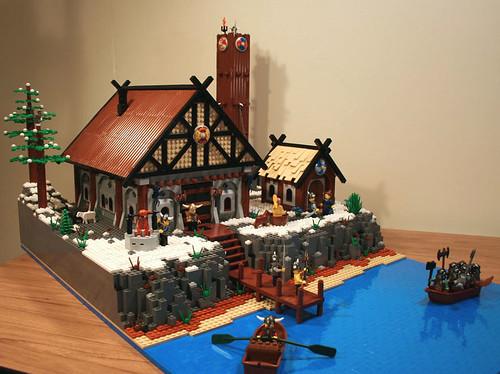 Мой замок из лего своими руками