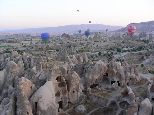Capadòcia en globus